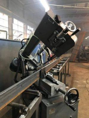 Заготовка профиля опалубки на заводе Альфатех