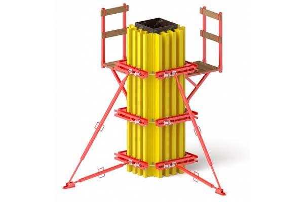 Продажа балочно-ригельной опалубки колонн