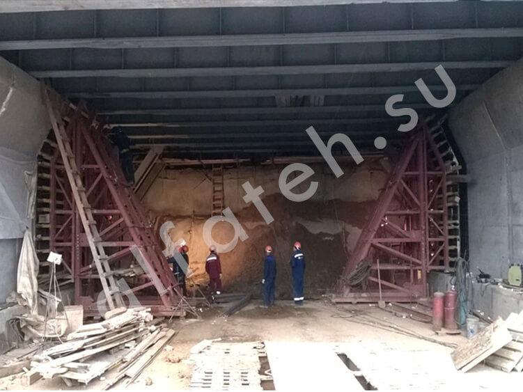 Путепровод тоннельного типа
