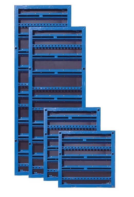 Опалубка колонн на линейных щитах