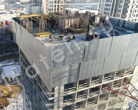 Ветрозащитный строительный экран