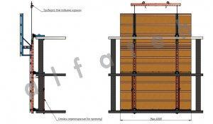 Схема строительного экрана