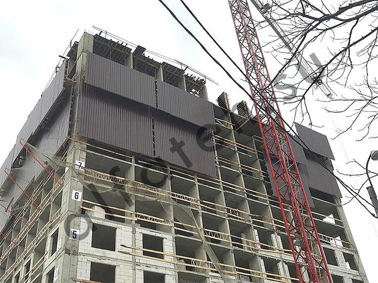 Ветрозащита для жилого комплекса