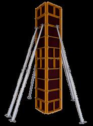 Опалубка колонн мелкощитовая